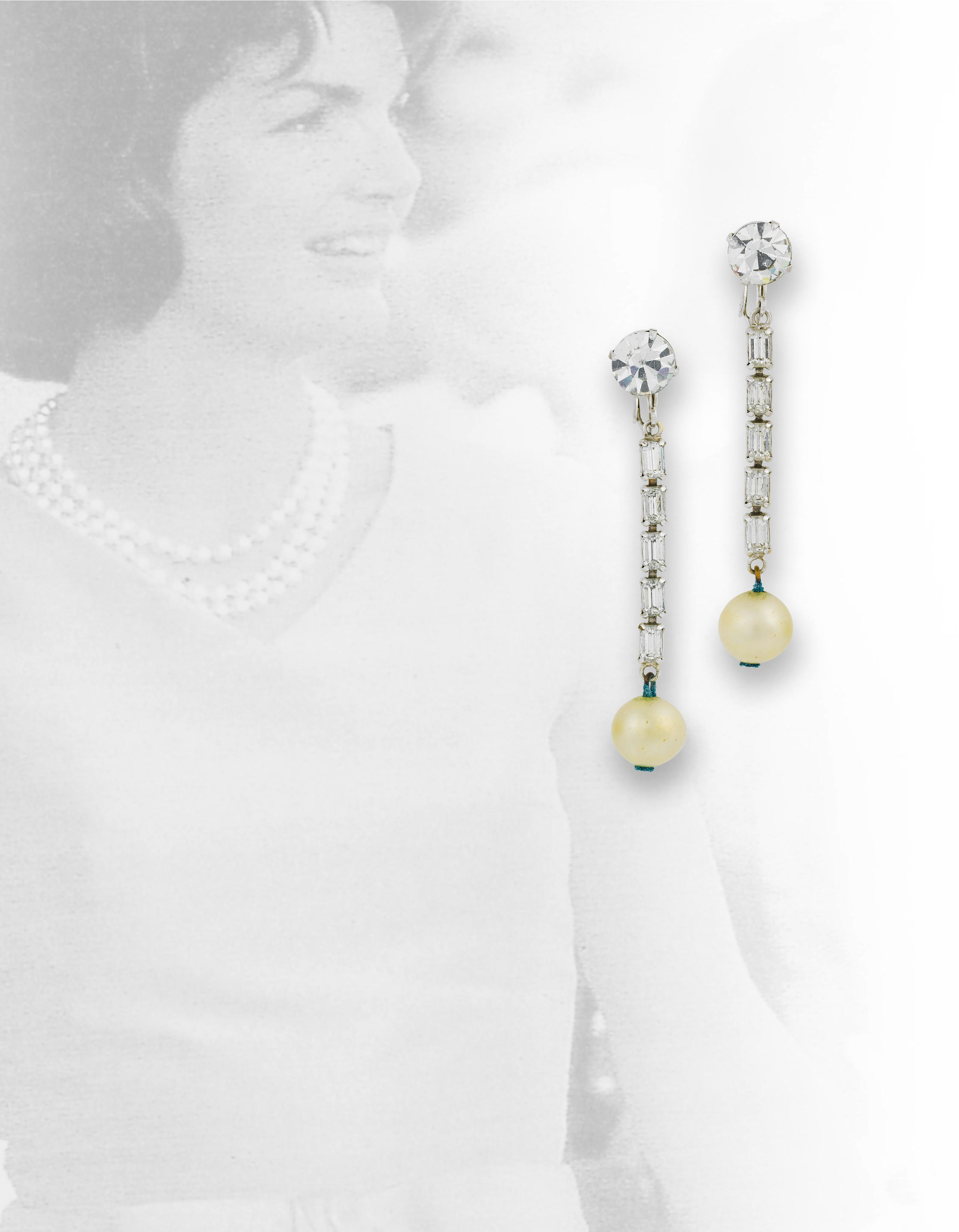 Jackie Kennedy's Faux Pearls Go on the Auction Block