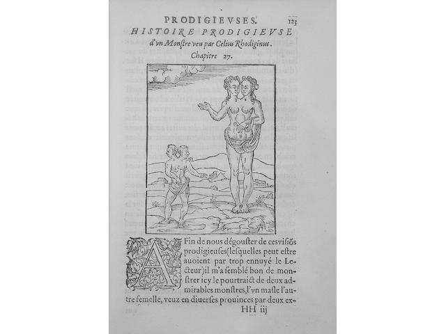Boaistuau P: Histoires Prodigieuses
