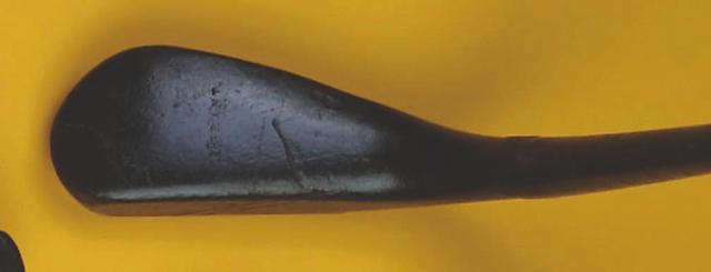 An R.Forgan long nose putter,  circa 186