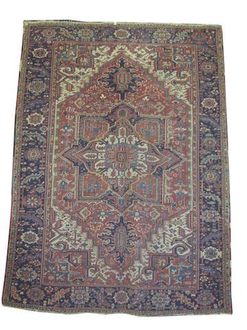 A Heriz carpet, North West Persia, 340cm x 259cm