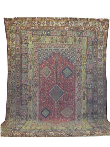 A large Rabat carpet, Morocco, 621cm x 447cm
