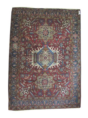 A Karadja rug, North West Persia, 201cm x 141cm