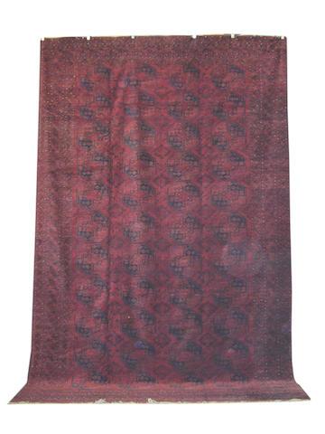 An Ersari carpet, Afghanistan, 500cm x 322cm