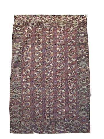 A Tekke carpet, West Turkmenistan, 366cm x 236cm