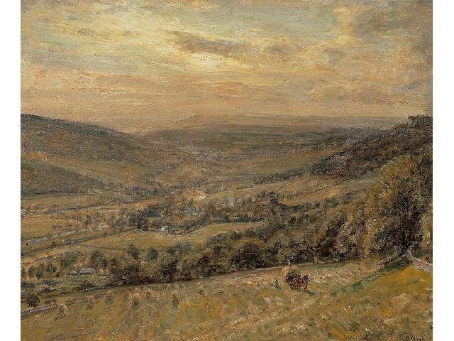 Herbert Royle - Haymaking (poss wharfe)