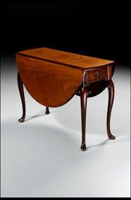 George II dropleaf table