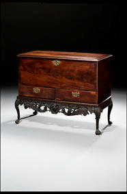 C18th Irish blanket chest