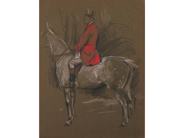 George Denholm Armour (British, 1864-1949) A collection of sketches  (qty).