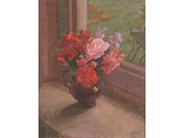 Henry Lamb (British, 1883-1960) Autumn Flowers 51 x 41 cm.