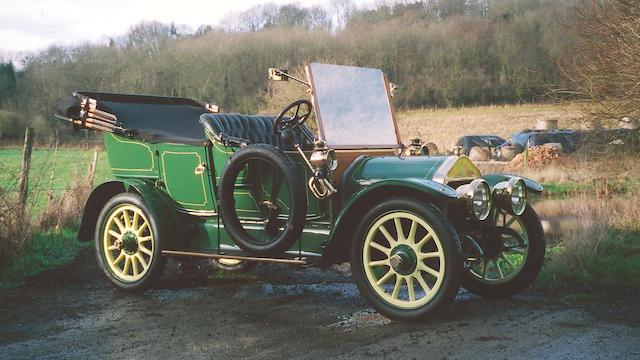 1910 Wolseley-Siddeley A3 12/16hp Rotonde Phaeton  Chassis no. 10458/460 Engine no. 24/538