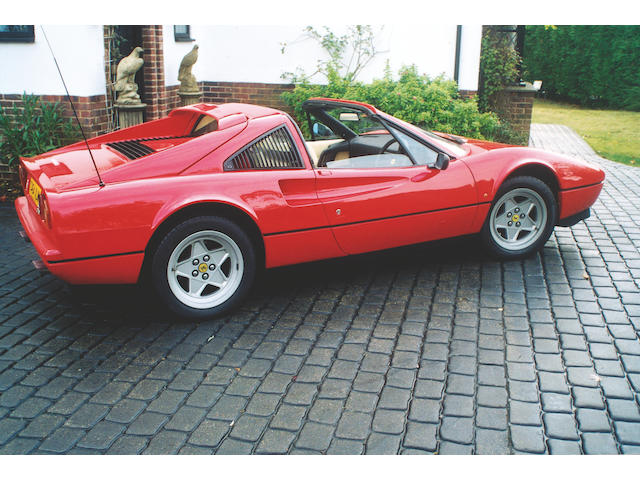 1986 Ferrari 328GTS Coupe  Chassis no. ZFFWA20C000062723 Engine no. 00821