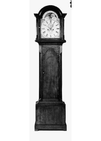 An early 19th century mahogany longcase clock, 202cm