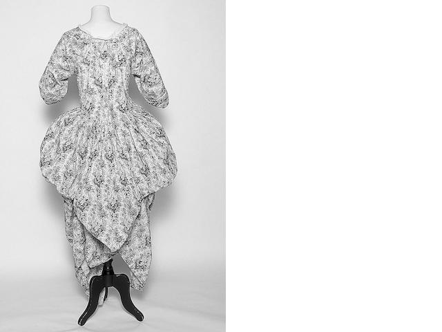 An 18th Century open robe,