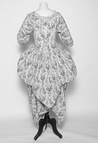 An 18th Century open robe,
