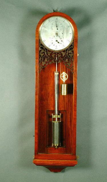 A Victorian mahogany wall mounted regulator,