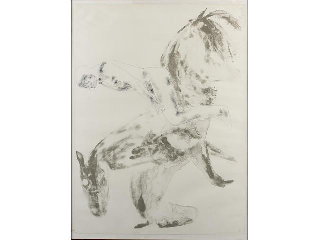 Elisabeth Frink Man and Horse V (Wiseman 54)