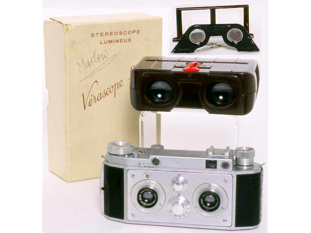 Verascope F40 Stereo camera by Jules Richard Paris