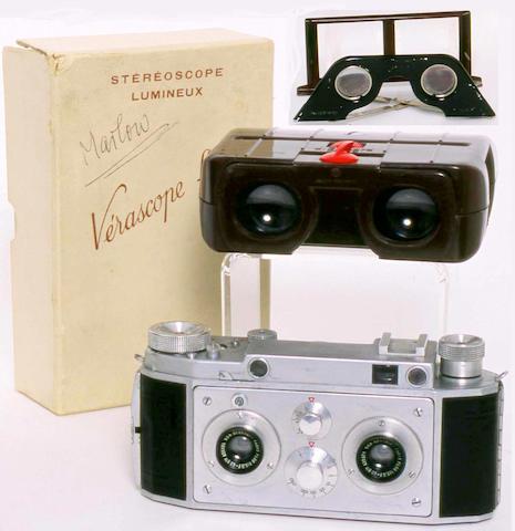 Verascope F40 Stereo camera by Jules Richard Paris
