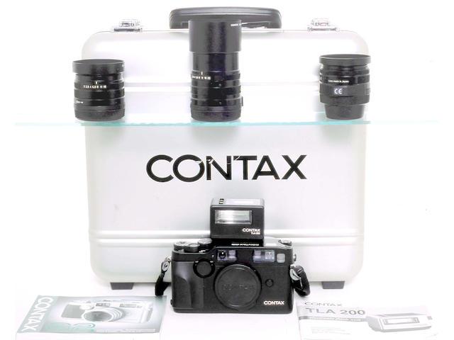 Contax G2 camera,
