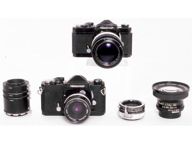 Nikkormat FTN Cameras