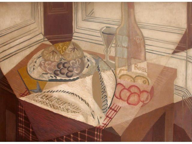 Edith Rimmington (British, 20th Century) Still Life with Fish 76 x 101cm