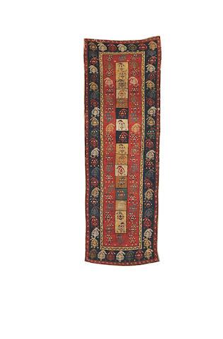 A Gendje Rug,  South Caucasus, 6 ft 4 in x 2 ft 2 in (194 x 66 cm)