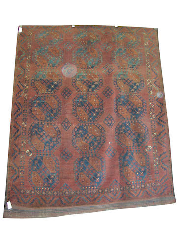 An antique Ersari carpet