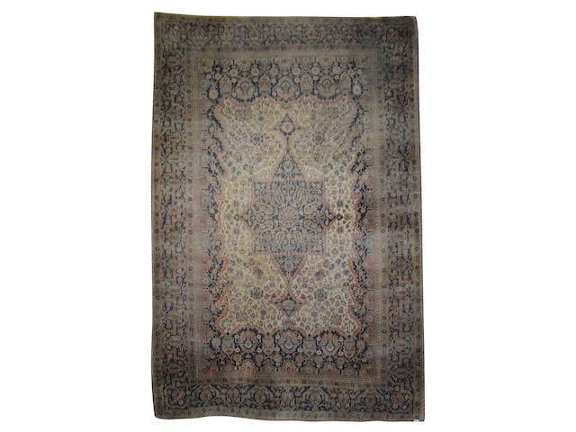 A 'Mohtasham' Kashan rug,  Central Persia,  205cm x 137cm