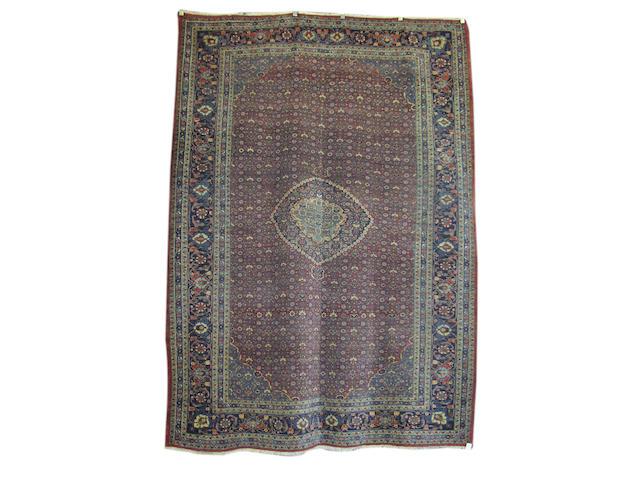 A Bidjar carpet, Persian Kurdistan, 347cm x 252cm