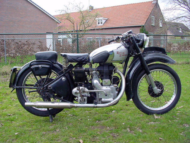 c.1948 Royal Enfield 346cc Model G  Chassis no. G-8641 Engine no. 8646