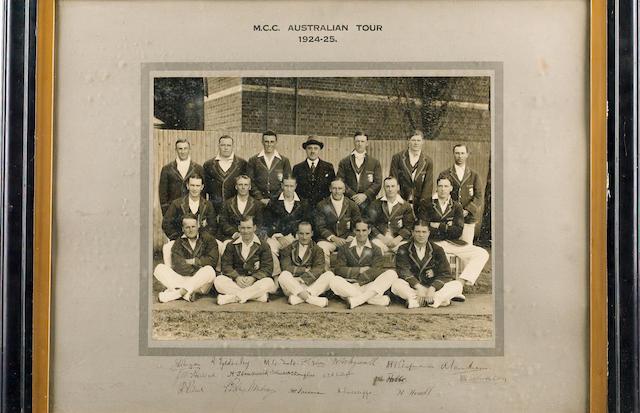 M.C.C. to Australia 1924-25