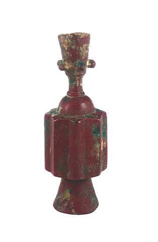 A Khorasan bronze Bottle Persia, 9th/10th Century