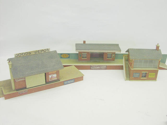 Bassett-Lowke wooden railway buildings (13)