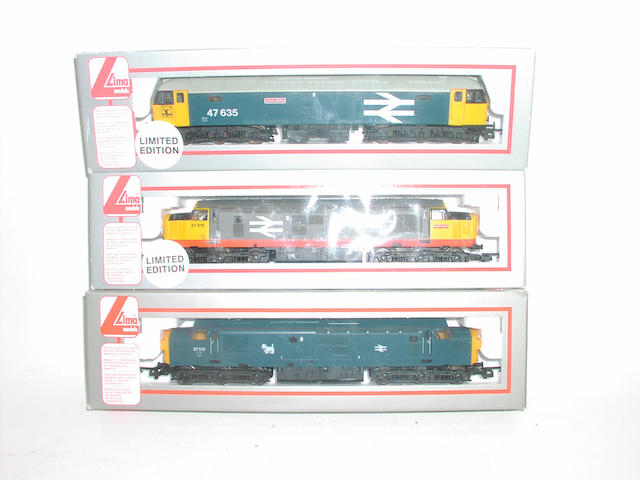 Lima Diesel locomotives (7)
