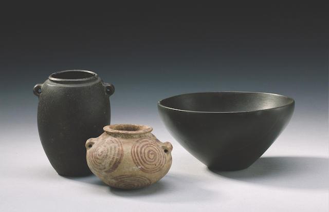 A Pre-Dynastic Egyptian basalt jar  Not later than 3100 B.C.