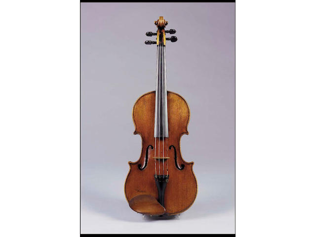 A fine and handsome Italian Violin by Giovanni Francesco Pressenda Turin 1825