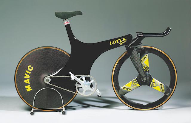 Bonhams : Chris Boardman's World Record breaking Lotus Sport Olympic