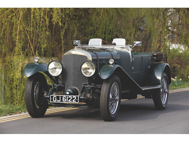 1929 Bentley Speed Six 6 1/2-litre Le Mans-style Tourer