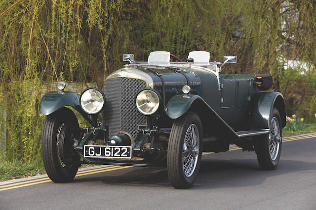 1929 Bentley Speed Six 6 1/2-litre Le Mans-style Tourer  Chassis no. KR 2677 Engine no. KR 2683