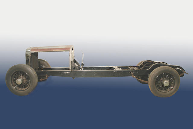 c.1934 Hispano-Suiza J12 Rolling Chassis with Engine and Gearbox