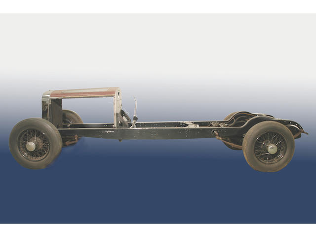 c.1934 Hispano-Suiza J12 Rolling Chassis with Engine and Gearbox  Chassis no. 13020 Engine no. 321052