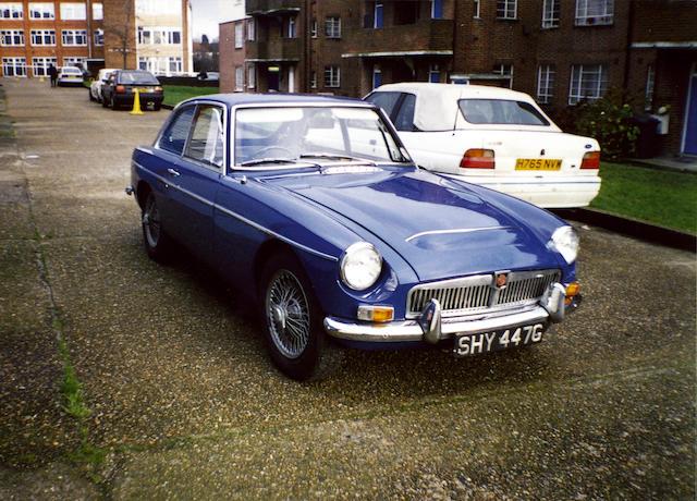 1969 MGC GT  Chassis no. GCD14197G Engine no. 29GVH2993