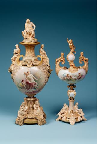 Burslem Items Love Vase