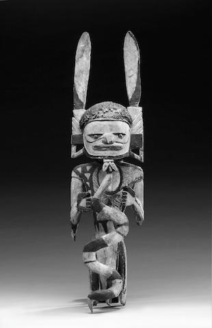 A New Ireland Wood Spirit Figure
