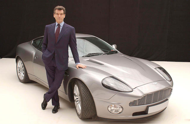 The ex-James Bond, Die Another Day,2002 Aston Martin V12 Vanquish Coupe  Chassis no. SCFAC13372B500172