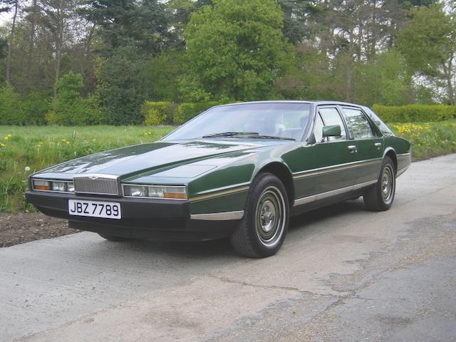 Bonhams 1982 Aston Martin Lagonda Four Door Sports Saloon Chassis No 13128 Engine No V 580 3128