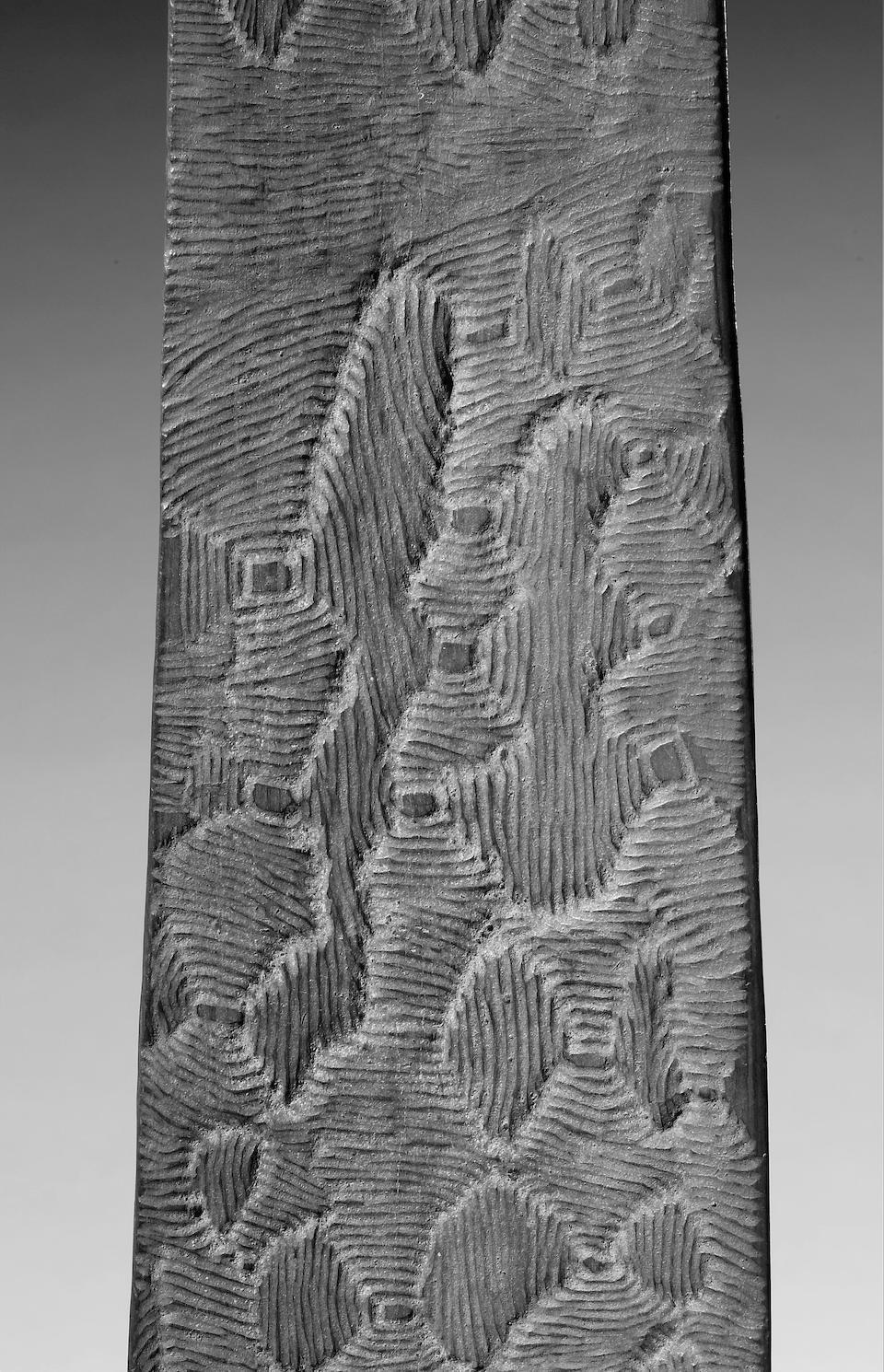 A large Australian Aborigine wood Churinga Central Desert