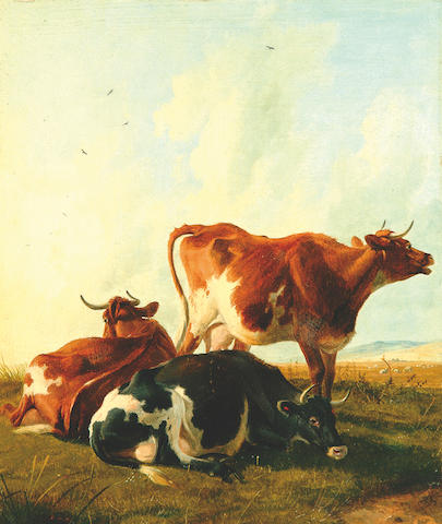 "TS Cooper ""Cattle at Rest"""