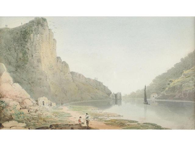 English School, 19th Century, The Avon Gorge, 16.5 x 27 cm, (2).