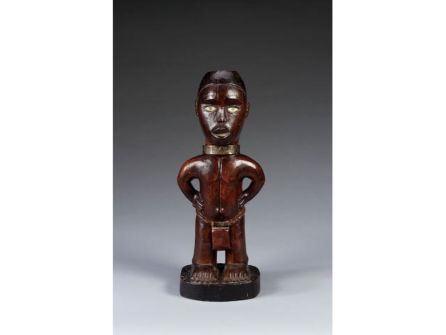 Yombe Wood Figure Congo Region